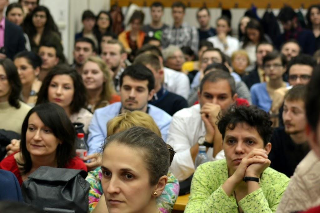 Conferinta Despre martiri cu Dan Puric, FTOUB 025