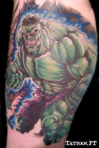 incredible hulk tattoos pictures tattoos ideas. Black Bedroom Furniture Sets. Home Design Ideas