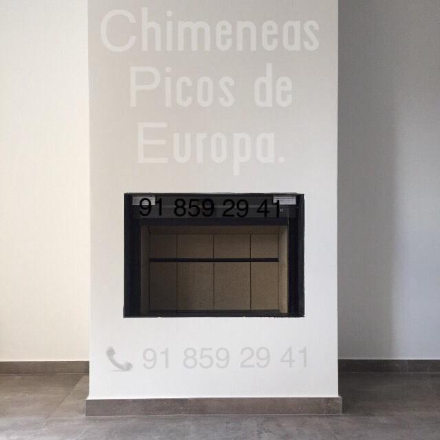 Chimeneas picos de europa aparato de le a que ahorran for Chimeneas tradicionales