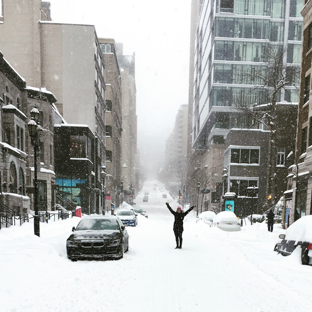 winter weekend in montreal