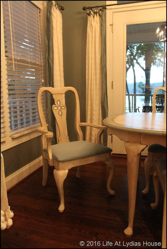 painted dining chair 2
