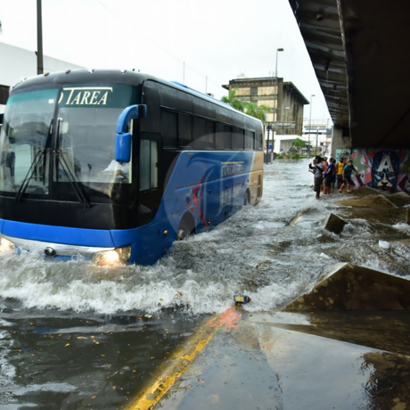 COE emite alerta verde para el Gran Santo Domingo y otras 7 provincias