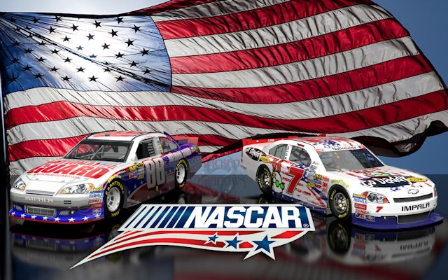 Danica Patrick Dale Earnhardt Jr NASCAR Unites Wallpaper