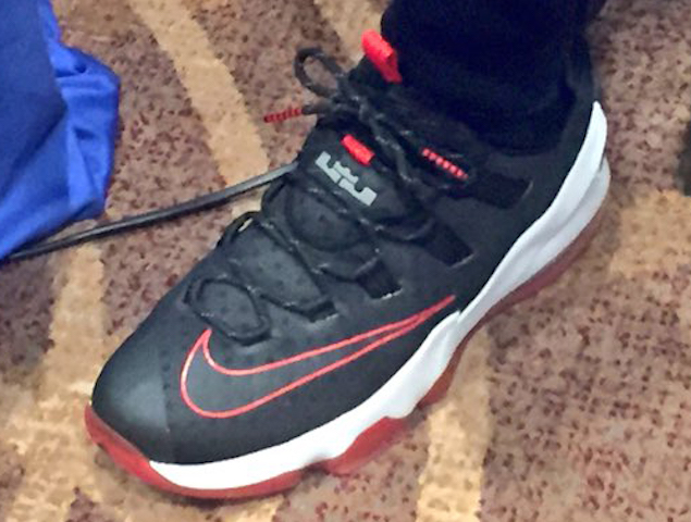 8aa157f068bb LeBron James Offers the Very First Look at Nike LeBron 13 Low ...