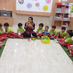 Introduction to Circle by Nursery Afternoon Section at Witty World, Chikoowadi