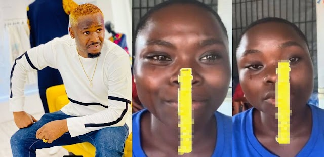 Zubby Michael Gets Young Girl Teary – Claims She Wants To Just See His Shadow (Video)