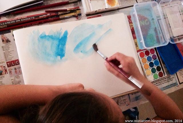 Miniatyyriblogi matkustaa maailmalla maalaten - Miniatyyriablog travels the world painting