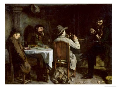 Sedef S Corner Gustave Courbet After Dinner At Ornans