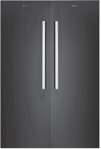 bauknecht kgk 360 es side by side a k hlen a gefrieren k hlen 374 l gefrieren 228 l. Black Bedroom Furniture Sets. Home Design Ideas