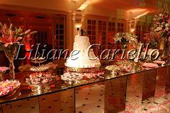 Fotos de decoração de casamento de Casamento Fernanda e Peterson no Clube do Botafogo da decoradora e cerimonialista de casamento Liliane Cariello que atua no Rio de Janeiro e Niterói, RJ.