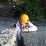 Fotos de Curso de escalada en fendas da EGAM
