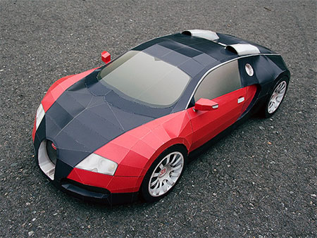 Bugatti Veyron Paper Model