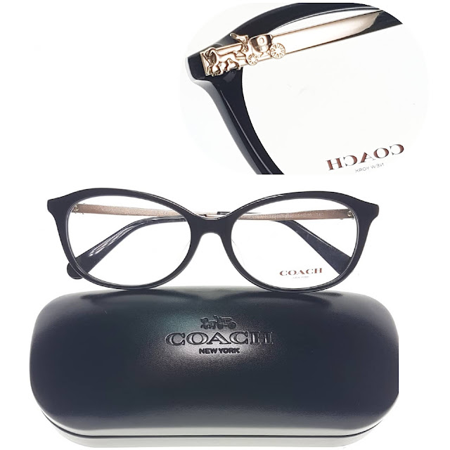 COACH eyeglasses black eyewear
