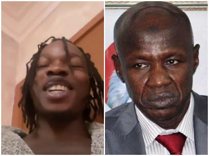 """Ole Ni Everybody"" Naira Marley Mocks EFCC'S Acting Chairman, Ibrahim Magu Over His DSS' Arrest Lobatan"