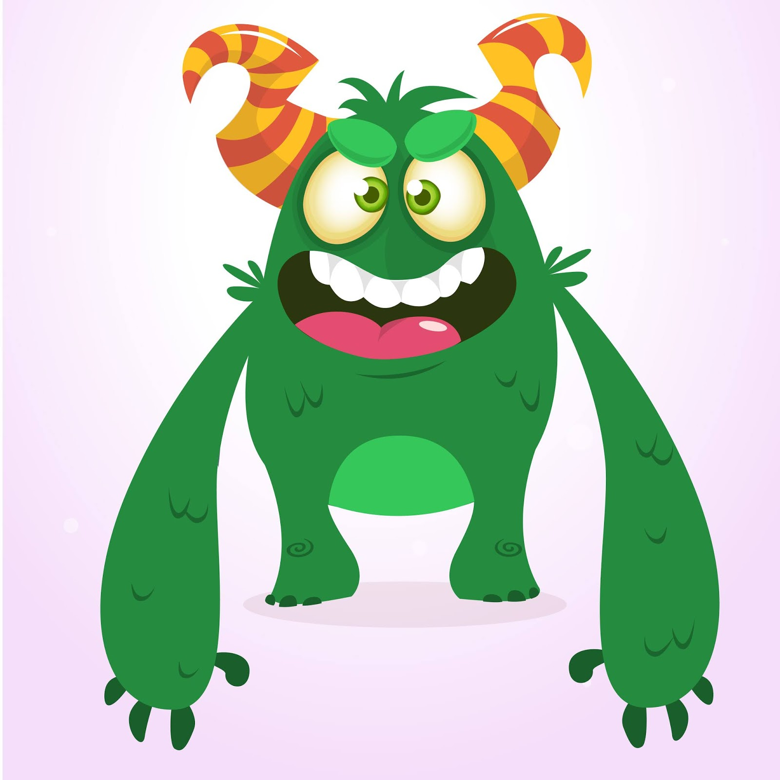 Cartoon Funny Monster Cool Free Download Vector CDR, AI, EPS and PNG Formats