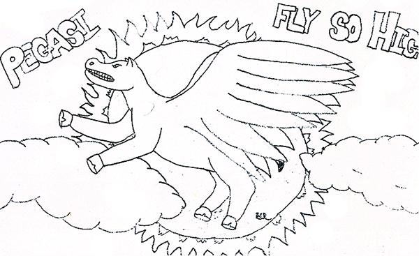 Pegasi Fly So High