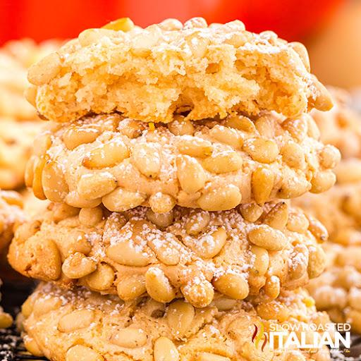 Italian Pignoli Cookies (Pine Nut Cookies)