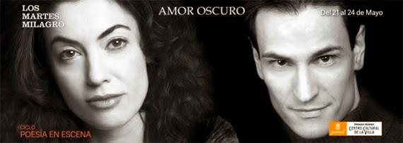 Amor Oscuro, de Federico García Lorca, en el Fernán Gómez