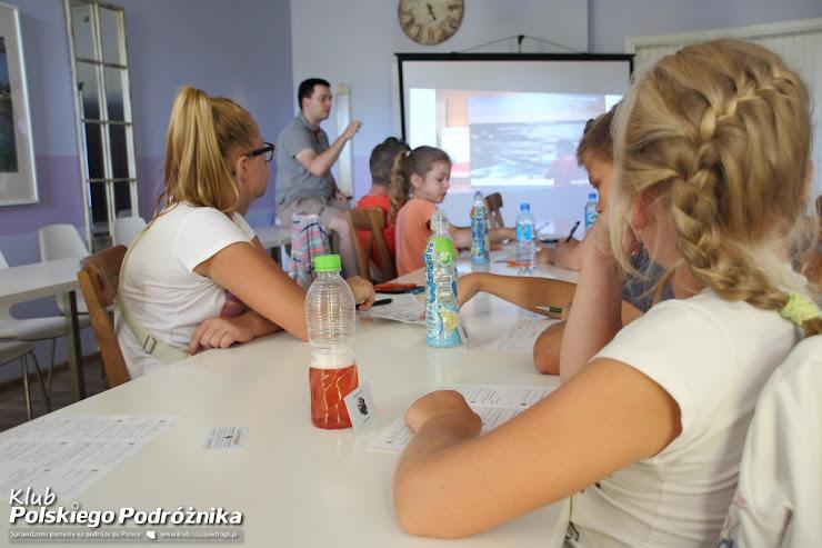 Warsztaty podróżnicze Kaszubski Szlak w Chmielnie