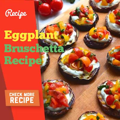 Coconut Almond Balls, Eggplant Bruschetta And Raspberry Popsicles Recipe