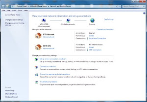 Screenshot 1 - Membuat Koneksi VPN PPTP di Windows