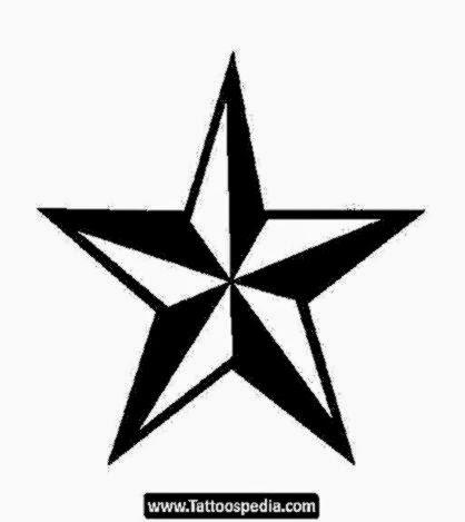 Star Tattoo Design Outline   Home Decor
