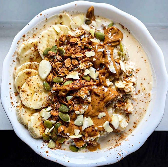 Muesli With Lemon Cream Recipe | Breakfast Care
