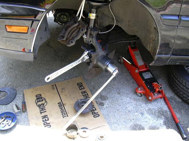 Vwvortex Com Front Wheel Bearing Replacement