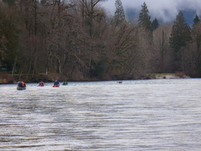 The Skagit River was wide, fast, and beautiful