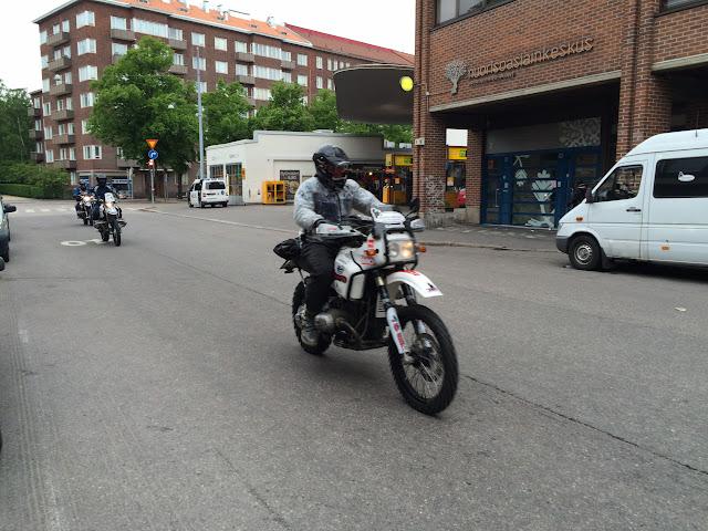 Abfahrt aus Helsinki
