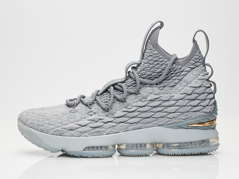 official photos 2db46 a5d6a Release Reminder: Nike LeBron 15 Wolf Grey (897648-005 ...