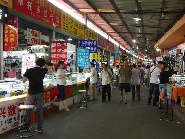 an aisle inside Shanghai Yinxiang Cheng