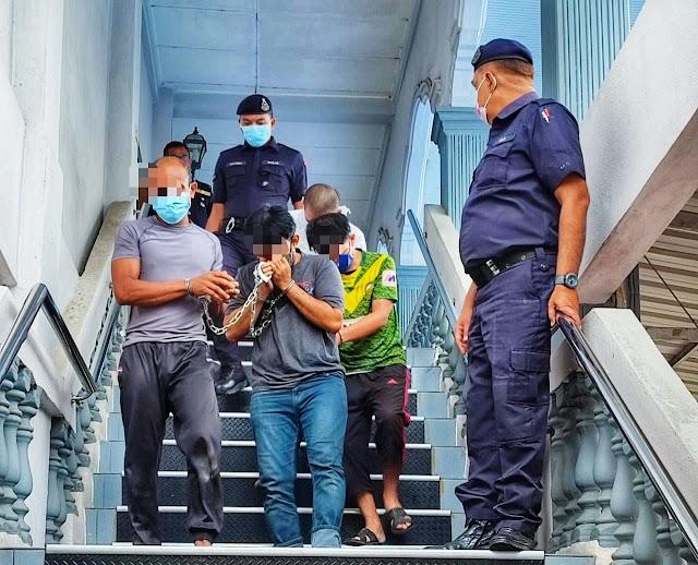 Dua sahabat berdepan hukuman gantung