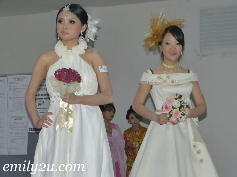 wedding dress catwalk show