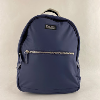 Agnes B. Voyage Small Backpack in Blue