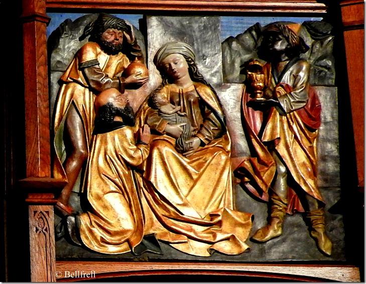 Margareten Kapelle 1 Anbetung der Könige
