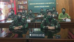 Korps Wanita Angkatan Darat (KOWAD) Perlu Beradaptasi dengan Revolusi Industri  4.0 dan Society 5.0