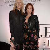 WWW.ENTSIMAGES.COM -   Simone McAullay from Broadchurch and Tanya Franks from Broadchurch and Eastenders   at     Valeriya in concert at the Royal Albert Hall  October 21st 2014                                                 Photo Mobis Photos/OIC 0203 174 1069