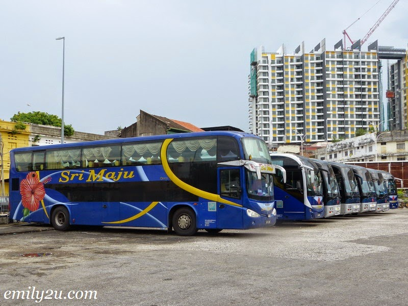Ipoh Lumut bus public transport