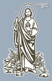 San Judas Tadeo Dibujo A Lapiz