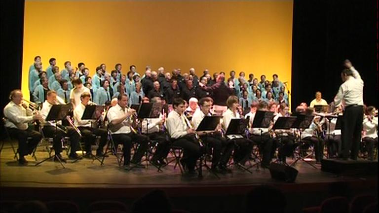 Image : CONCERT avec la Chorale  DIAPASON en 2012