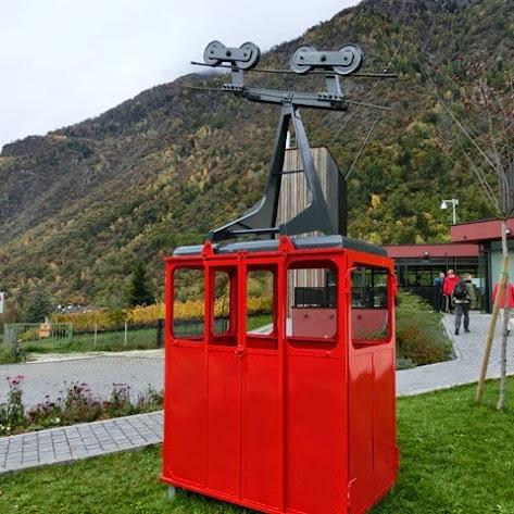 Hauswanderung Meraner Höhenweg Schlucht der tausend Stufen im Oktober 2013 Schulerhof