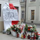 Poświęcenie krzyża katyńskiego w Wadowicach
