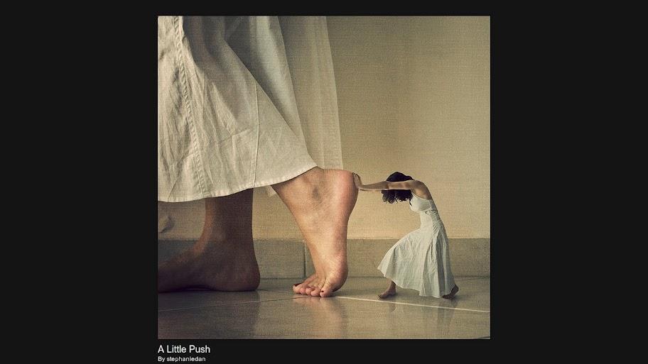 StephanieDan: A Little Push