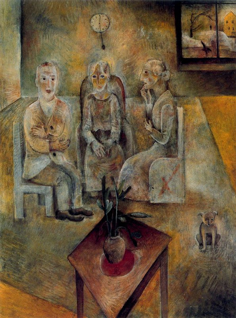 Albert Bloch - Group of Three