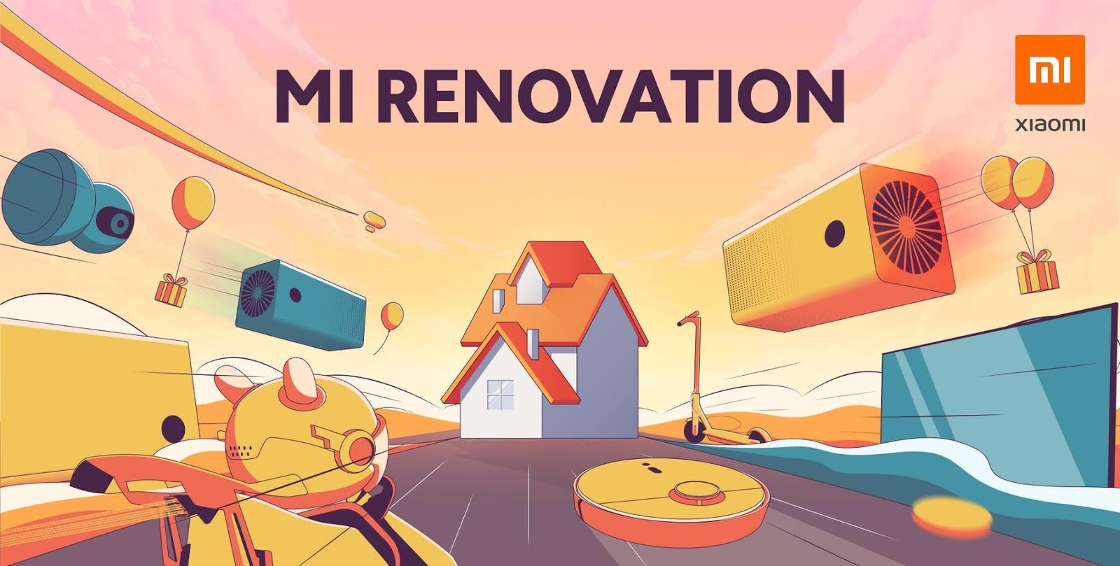 Xiaomi เชิญชวนชาวไทย ลุ้นเป็นผู้โชคดีเข้าร่วมแคมเปญ Mi Renovation: Smart Renovation เนรมิตบ้านของคุณให้มีชีวิตสไตล์ Less is More ที่มาพร้อมเทคโนโลยี Smart Home สุดล้ำ