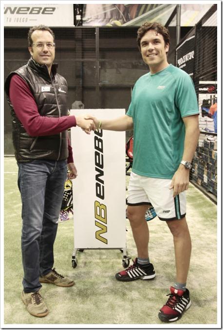 Jake Benzal se une a ENEBE reforzando la imagen de la firma en Cataluña.