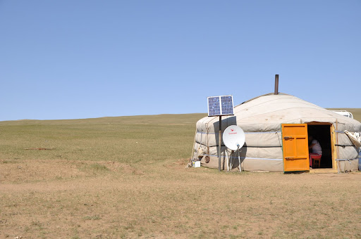 Ger (Mongolian tent)