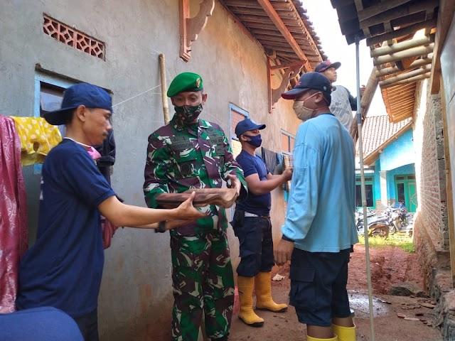 Bedah RTLH Dilakukan PT. Nawakara Kerjasama Kodim 0736 dan Pemkab Batang di Desa Ujungnegoro