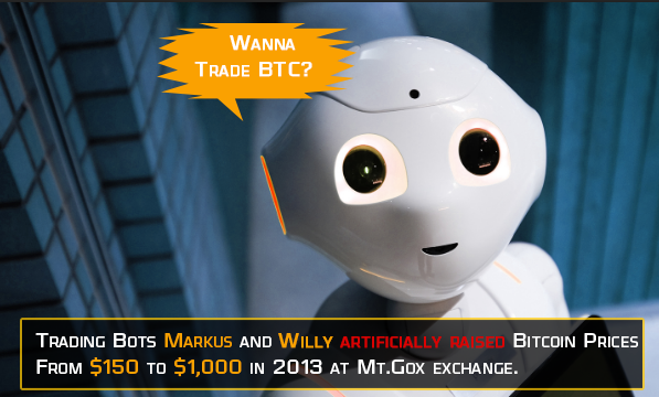 Bitcoin trading bots - markus and willy